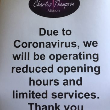 Reduced Opening Hours
